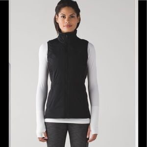 Lululemon Run For Cold Vest Black